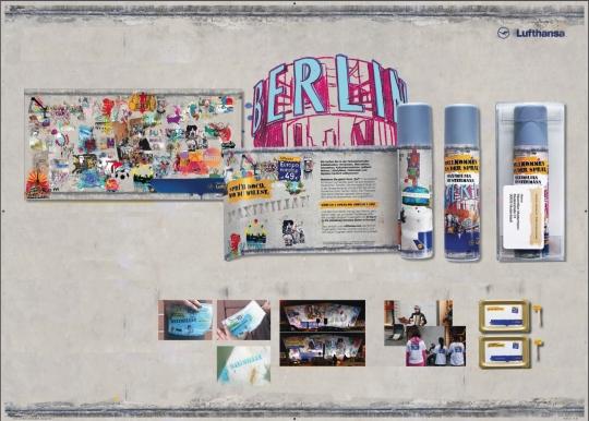"""Im Rahmen der Kampagne """"Willkommen an der Spray"""" verschickte Wunderman an zugezogene Neuberliner eine Spraydose mit individualisierter Namensschablone, um ihr neues Revier zu markieren."""
