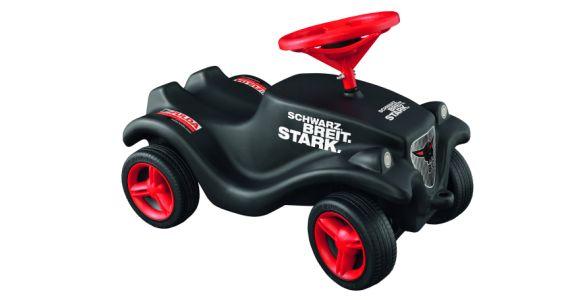 Eine starke Verbindung: Von dem Spielzeugklassiker verkauft Big jedes Jahr mehr als 20.000 Stück. Ein aufziehbares Miniatur- Modell setzte Fulda als Giveaway ein.