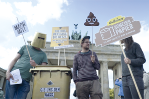 Scheisspapier Berlin 01 - Hass in seiner besten Rolle