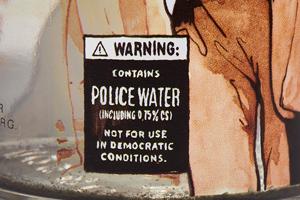 Detail 05 - Wasserwerferwasser